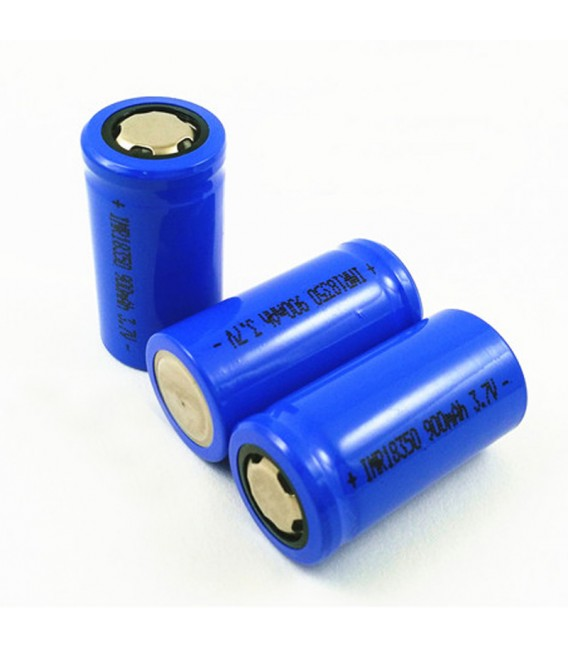 Li-ion батерия INR18350 900mAh 3.7V