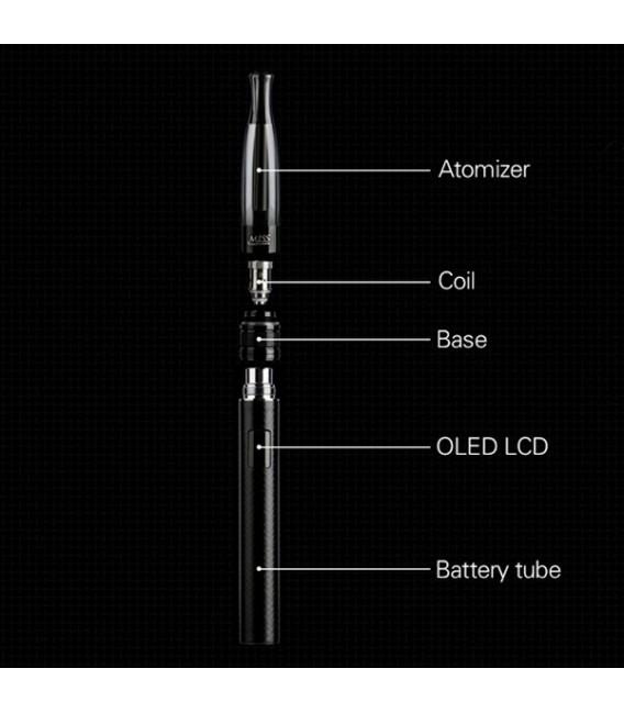 Дамска електронна цигара LSS OLED - слим